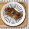 Karkówka pieczona w miodzie z grzybami