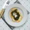 Pierś kurczaka z grilla zapiekana ze szpinakiem i serem gorgonzola